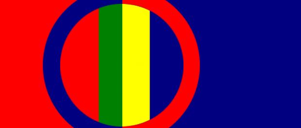 Drapeau Laponie