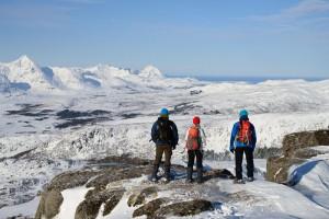Randonnée en raquettes aux Lofoten (c) Explorano