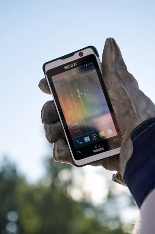 Nautiz-X1-Smartphone Grand froid
